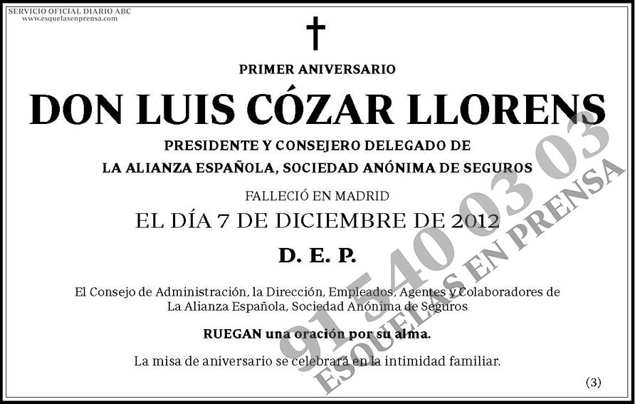 Luis Cózar Llorens